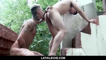 Furry Stud Fucks A Cute Boy In The Jungle