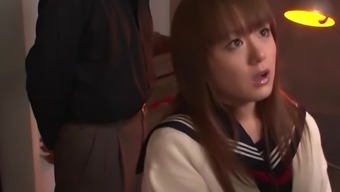 Asian Schoolgirl Gets Punished For Starring In Porn