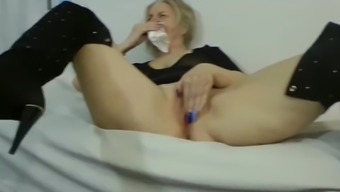 Sexy Mature Blonde Lives Only For Big Cock