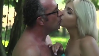 Grandpa Cums Inside Young Girl Mouth