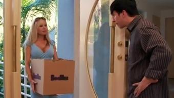 Naughty America - Cindi Sinderson Fucking In The Living Next Room