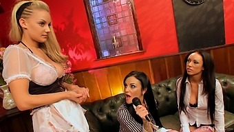 Bisexual Threesome With Lauren Rosario Gives The Best Orgasm Ever