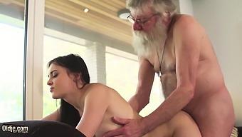 Old And Young Porn Teen Girlfriend Sucks Grandpa Cock Hard