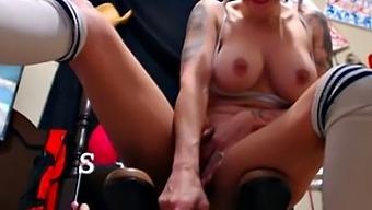 Betty Boop Babe On Sex Machine