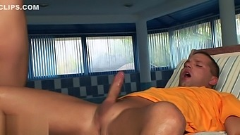 Aletta Ocean Gives A Rough Ride And Nice Footjob