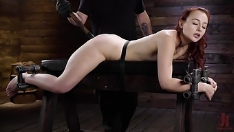 Ginger Slut Plays Submissive In Scenes Of Bdsm Porn