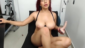 Analiia Cox Playing With Her Dildo