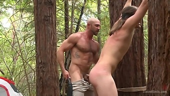 Fuck In The Forest Is A New Sex Experience For Handsome Gay Brock Avery