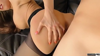 Marvelous Busty Sexpot In Black Tights Britney Amber Deserves Doggy Fuck