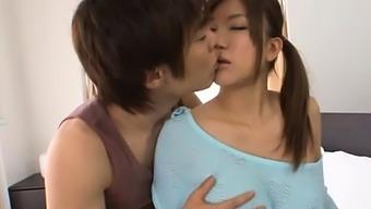 Dong Loving Shameless Busty Japanese Sweetie Nao Kamiki