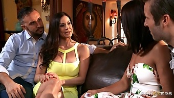 Intense Ffm Threesome With Cock Hungry Adriana Chechik & Kendra Lust