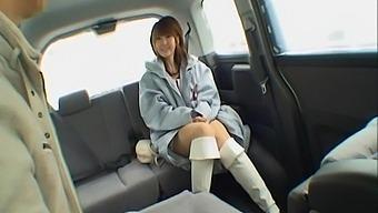 Asian Amateur Nana Ayase Gets Into The Van To Suck A Stiff Dick