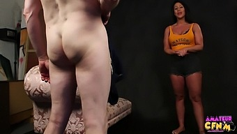 Candi Kayne Gets Down On Her Knees And Shows Off Her Head Game