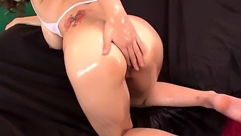 Airu Oshima Plays With Her Boobs And Pussy In Perfect Xxx