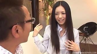 Slender Japanese Hottie Aino Kishi Enjoys Riding A Dick Of A Stranger