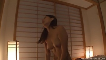 Late Night Fucking On The Bed With Natural Boobs Tsuno Miho