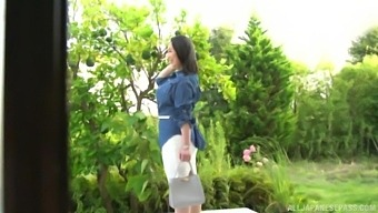 Asian Amateur Nanase Sana Gets Undressed And Pleasured By A Stranger