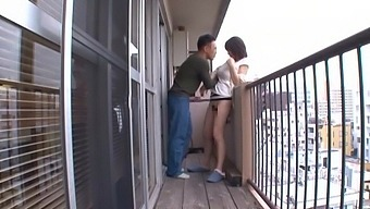Foxy Asian Chick Anri Enjoys Getting Fucked From Behind And Gives Head