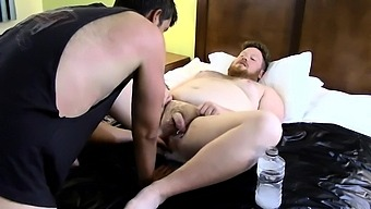 Gay Sex Clip Hard Sky Works Brock'S Hole With His Fist