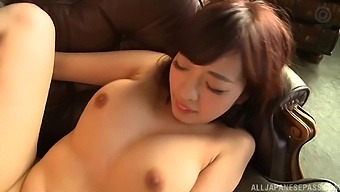 Busty Japanese Babe Fujii Arisa Spreads Her Legs To Be Fucked