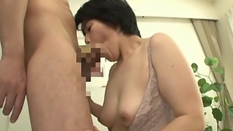 Mature Asian Otowa Ayako Has A Blast As Her Cunt Is Dealt With