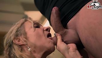 German Big Boobs Mature Mom Fuck
