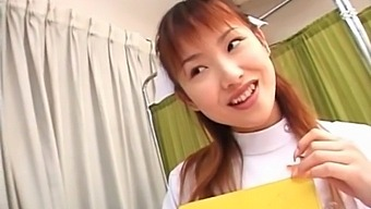 Cute Japanese Nurse Rina Usui Knows How To Pleasure A Dick