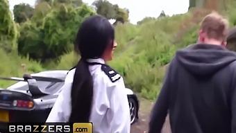 Elicia Solis In British Cop Entraps Some Big Cock