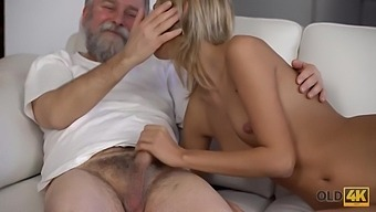 Old Man And His Winsome Wife Begin Morning With Sensu With Jenny Smart