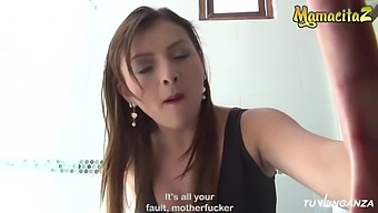 Pedro Nel, Jenny Marin And Jeison Montana In Cheating Latina Takes Two Dicks At The S