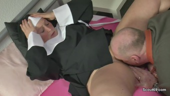 The German Language Grandma Nun Get Fucked Along With Not Dad In Sextape