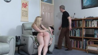 Stout Love Spanked By Sister And Father'S Brother