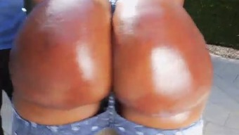 Victoria Brownies Spanked And Gives Head White Colored Dick