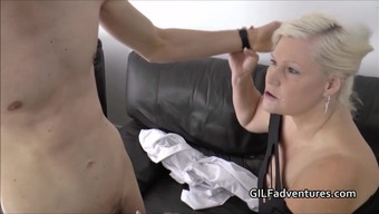 Youthful Group Cleaner Fucks Nanna Lacey