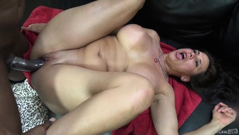 Buxom Milf Sheila Marie Fucks A Choice Stick And Quivers Along With Satisfaction