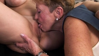 Granny Contributes Utilizing A Sizzling Fact That'S Huge Organic Tits