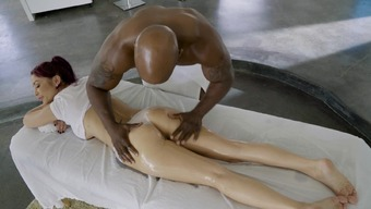 A Redhead Is Getting Massaged And He Or She Is Likewise Fucked