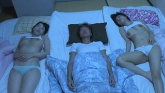 Magnificent Threesome Along With Two(2) Large Boobs Sister In