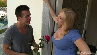 A Girl With The Use Of Great, Naturally-Occuring Titties Gives A Guy A Blumpkin