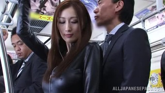 A Shocking Oriental Mom Has Her Elegant Hooters Performed With The Use Of
