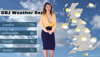 Kinky English Climatic Conditions Bones Lets Her Tits Get Out