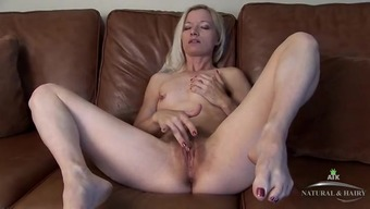 Pretty Bones Utilizing A Amazing Extract Rubs Her Clit