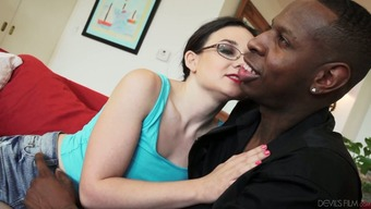 Wonderful Dark Freaky Ladies Sense Horny For Getting A An African American Located On The Settee