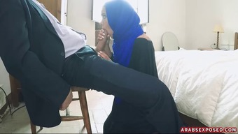 Arab Baby With Angelic Eye Area Gets Her Pussy Smashed