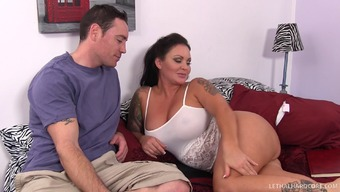 Mama Going Down On His Junk Can Take Her Vocab To Effectively His Tight Asshole