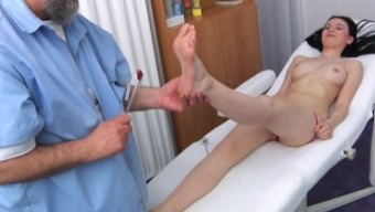 Timea Gyno Exam - Anal Passage And Vaginal Area Assessment Before Speculum Insertion