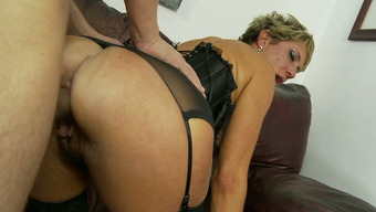 Mean Mother In Horny Lingerie Chloe Wilder Nailed Challenging By Alex Gonz