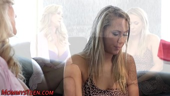 Sizzling Stepmom Two Fingers Young Adult