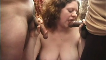 Pregnant Woman's Hunger Cravings For Cock Is Insatiable