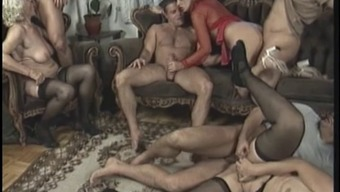 Anal Orgy With Hot Older Females Who Might Like It Once Youthful Guys Fuck These Items